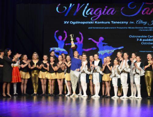 "XV Ogólnopolski Konkurs ""Magia Tańca"""