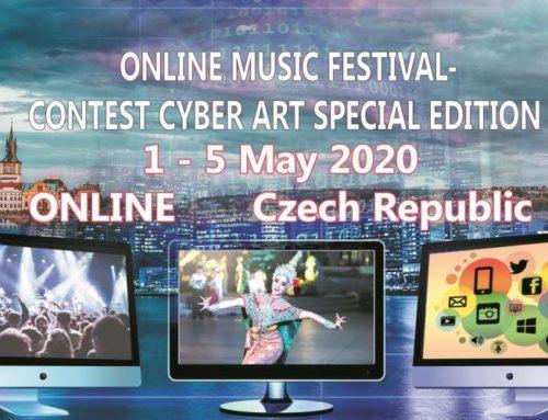Online Music Festival CYBER ART w Pradze