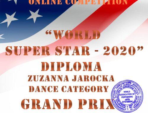 Międzynarodowy sukces w konkursie w Las Vegas, USA